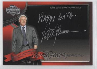 2011 Topps Multi-Product Insert 60th Anniversary Autographs [Autographed] #60A-PG - Peter Gammons /60