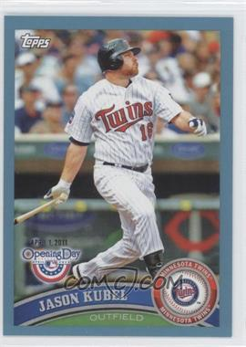 2011 Topps Opening Day - [Base] - Blue #4 - Jason Kubel /2011