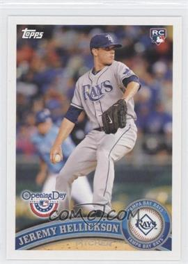 2011 Topps Opening Day - [Base] #80 - Jeremy Hellickson