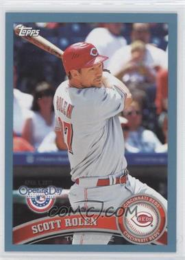 2011 Topps Opening Day Blue #107 - Scott Rolen /2011