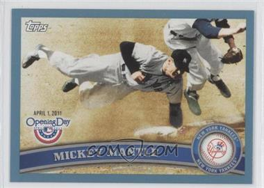 2011 Topps Opening Day Blue #7 - Mickey Mantle /2011