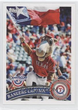 2011 Topps Opening Day Mascots #M-23 - Rangers Captain