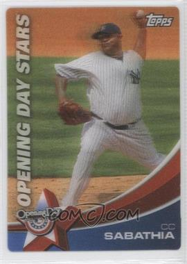 2011 Topps Opening Day Opening Day Stars #ODS-6 - C.C. Sabathia