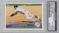 Nick Swisher [PSA/DNA Certified Auto]
