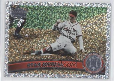 2011 Topps Platinum Diamond Anniversary #100.2 - Stan Musial (Legends)