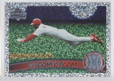 2011 Topps Platinum Diamond Anniversary #199.2 - Ozzie Smith (Legends)