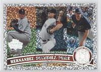 Felix Hernandez, Clay Buchholz, David Price