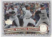 Miguel Cabrera, Alex Rodriguez, Jose Bautista
