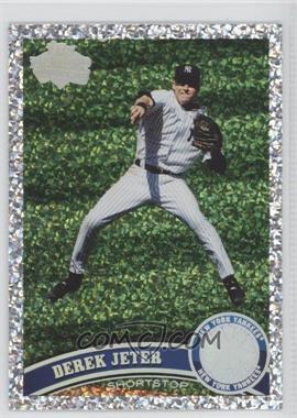2011 Topps Platinum Diamond Anniversary #330 - Derek Jeter