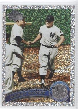 2011 Topps Platinum Diamond Anniversary #450 - Mickey Mantle