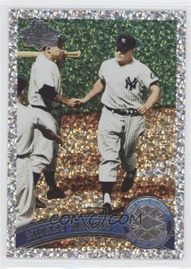 2011 Topps Platinum Diamond Anniversary #450.2 - Mickey Mantle (Legends)