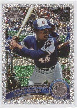 2011 Topps Platinum Diamond Anniversary #510 - Hank Aaron