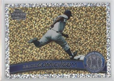 2011 Topps Platinum Diamond Anniversary #80.2 - Jackie Robinson (Legends)