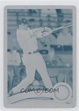 2011 Topps Printing Plate Cyan #357 - Mike Cameron /1