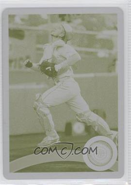 2011 Topps Printing Plate Yellow #399 - Adam Moore /1