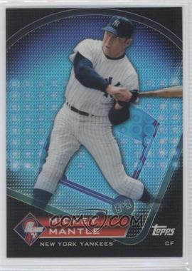 2011 Topps Prize Prime 9 Refractor #PNR7 - Mickey Mantle
