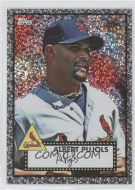 2011 Topps Prizes 1952 Topps Black Diamond Wrapper Redemptions #11 - Albert Pujols