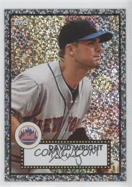 2011 Topps Prizes 1952 Topps Black Diamond Wrapper Redemptions #4 - David Wright