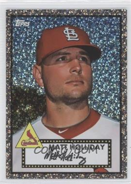 2011 Topps Prizes 1952 Topps Black Diamond Wrapper Redemptions #42 - Matt Holliday
