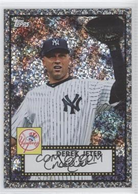 2011 Topps Prizes 1952 Topps Black Diamond Wrapper Redemptions #54 - Derek Jeter