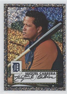 2011 Topps Prizes 1952 Topps Black Diamond Wrapper Redemptions #57 - Miguel Cabrera