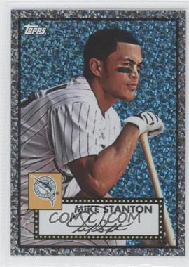 2011 Topps Prizes 1952 Topps Black Diamond Wrapper Redemptions #58 - Giancarlo Stanton