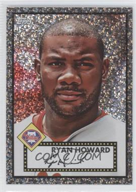 2011 Topps Prizes 1952 Topps Black Diamond Wrapper Redemptions #60 - Ryan Howard