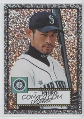 2011 Topps Prizes 1952 Topps Black Diamond Wrapper Redemptions #8 - Ichiro Suzuki
