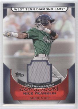 2011 Topps Pro Debut - Minor League Materials #MM-NF - Nick Franklin