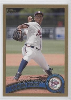 2011 Topps Pro Debut Gold #241 - Carlos Perez /50