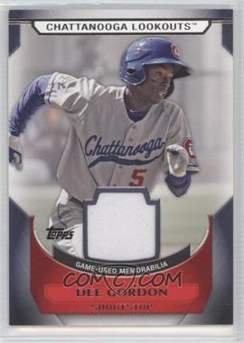 2011 Topps Pro Debut Minor League Materials #MM-DG - Dee Gordon