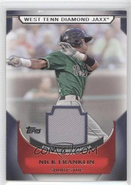 2011 Topps Pro Debut Minor League Materials #MM-NF - Nick Franklin