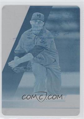 2011 Topps Pro Debut Single-A All-Stars Printing Plate Cyan #SA35 - Ron Roenicke /1