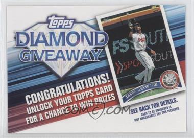 2011 Topps Redemptions Diamond Giveaway Code Cards #TDG-14 - Jason Heyward