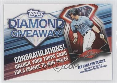 2011 Topps Redemptions Diamond Giveaway Code Cards #TDG-18 - Evan Longoria