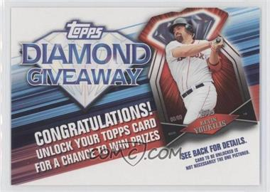 2011 Topps Redemptions Diamond Giveaway Code Cards #TDG-20 - Kevin Youkilis
