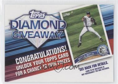 2011 Topps Redemptions Diamond Giveaway Code Cards #TDG-5 - Derek Jeter