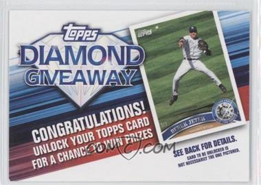 2011 Topps Redemptions Diamond Giveaway Code Cards #TDG-5 - Derek Jeter