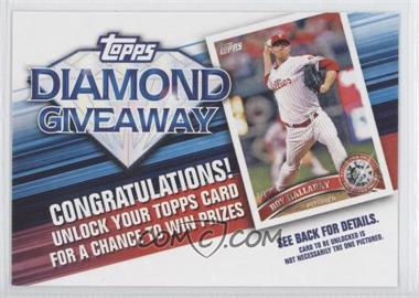 2011 Topps Redemptions Diamond Giveaway Code Cards #TDG-6 - Roy Halladay