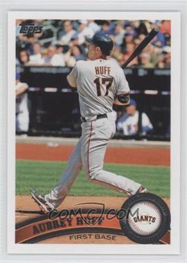 2011 Topps San Francisco Giants - [Base] #SFG3 - Aubrey Huff