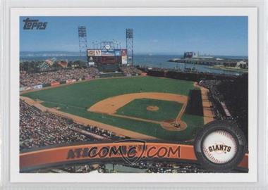 2011 Topps San Francisco Giants #SFG17 - AT&T Park