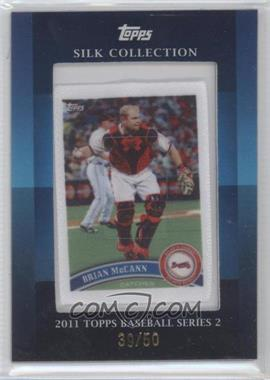 2011 Topps Silk Collection #BRMC - Brian McCann /50