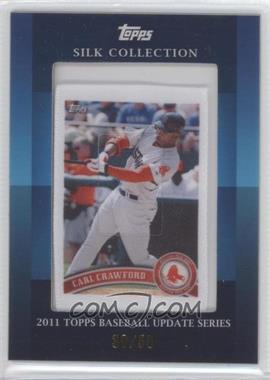 2011 Topps Silk Collection #CACR - Carl Crawford /50