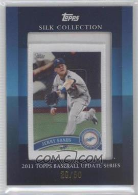 2011 Topps Silk Collection #JESA - Jerry Sands /50