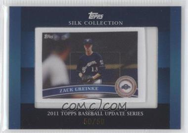 2011 Topps Silk Collection #N/A - Zack Greinke /50
