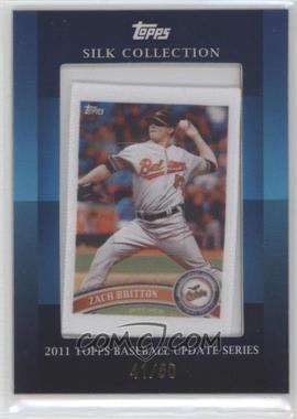 2011 Topps Silk Collection #ZABR - Zach Britton /50