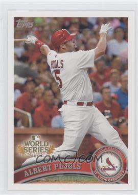 2011 Topps St. Louis Cardinals World Series Champions - Hanger Pack [Base] #WS1 - Albert Pujols