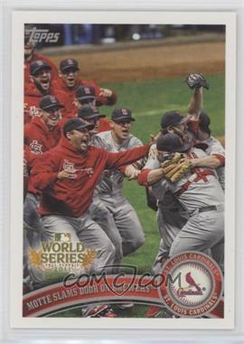 2011 Topps St. Louis Cardinals World Series Champions - Hanger Pack [Base] #WS24 - St. Louis Cardinals Team