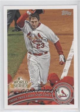 2011 Topps St. Louis Cardinals World Series Champions - Hanger Pack [Base] #WS25 - David Freese