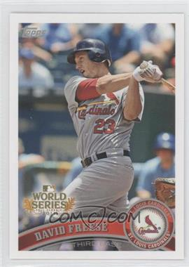 2011 Topps St. Louis Cardinals World Series Champions - Hanger Pack [Base] #WS3 - David Freese